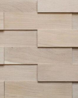 Объемные деревянные панели Difard 3D Дуб Blanc (Белый)