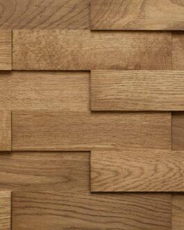 Объемные деревянные панели Difard 3D Дуб Fume (Дымчатый)