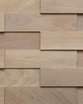 Объемные деревянные панели Difard 3D Дуб Gris Blanc (Серо-белый)